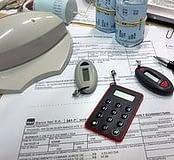accounts and calculator