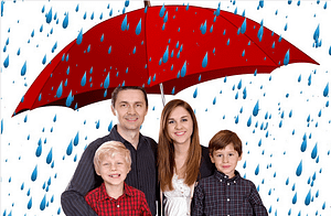 insurance policy acts like an umbrella